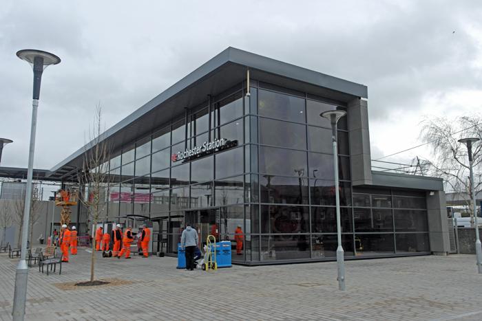 Rochester Train Station Car Park